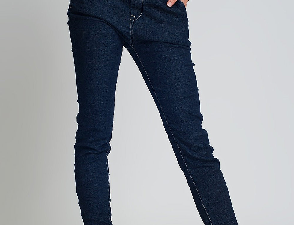 Jeans Skinny Cut Chino Style