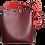 Thumbnail: Shoulder Hobo Tote Bordeaux-Coral