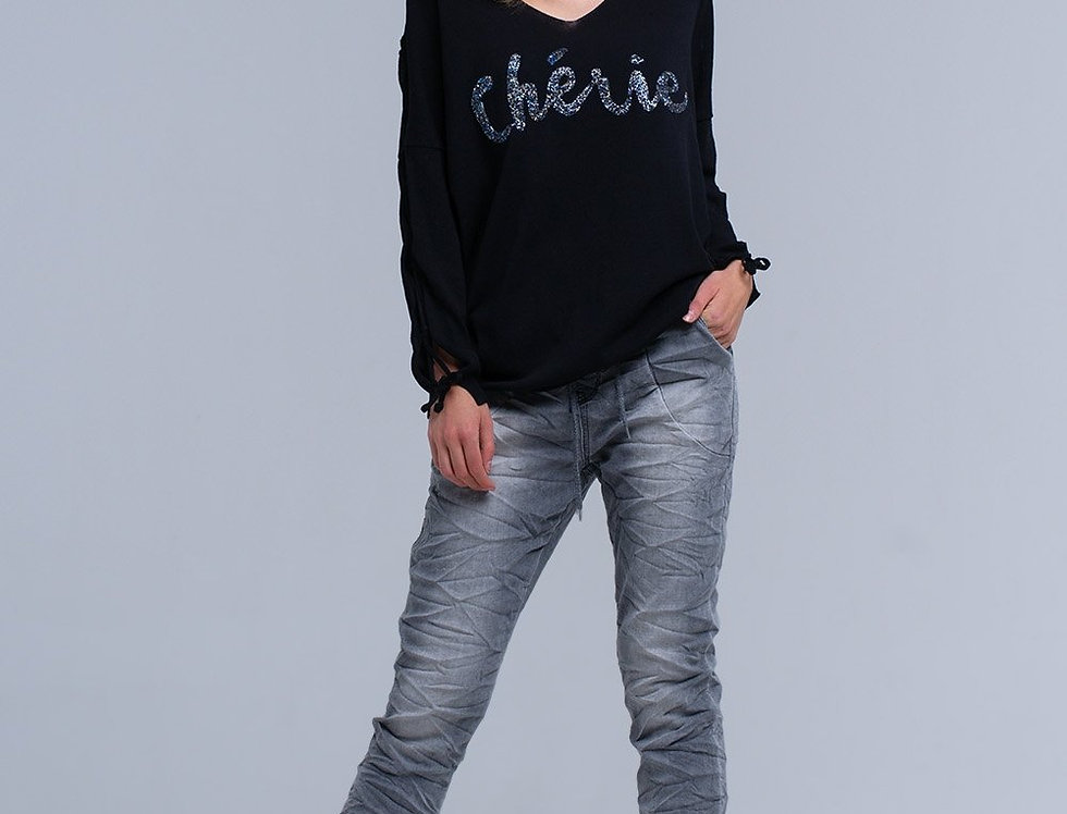 Jogger Gray Jeans