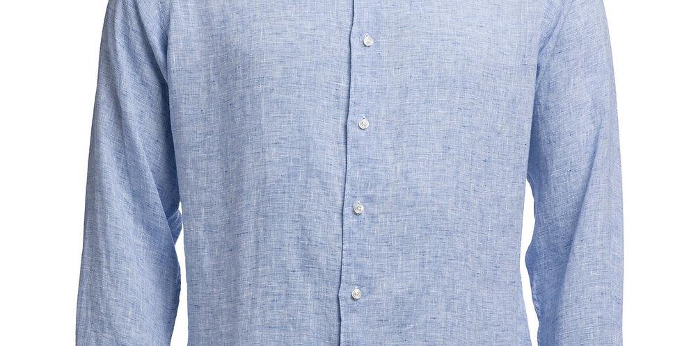 FIJI Linen Shirt Blue