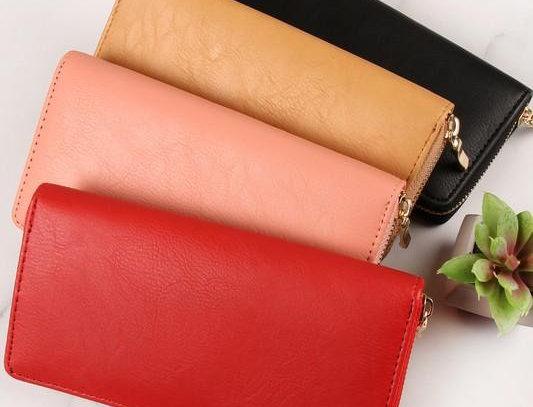 Hdg1460 - Classic Single Zipper Wallet