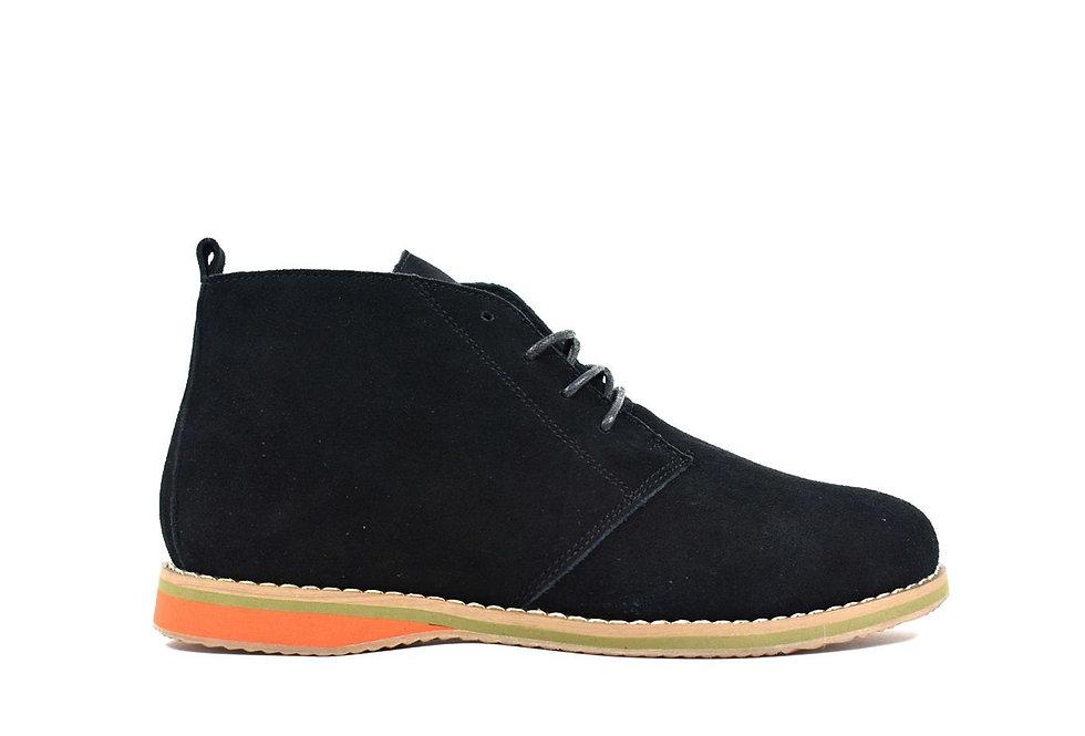 Men's Suede Desert Boot Black