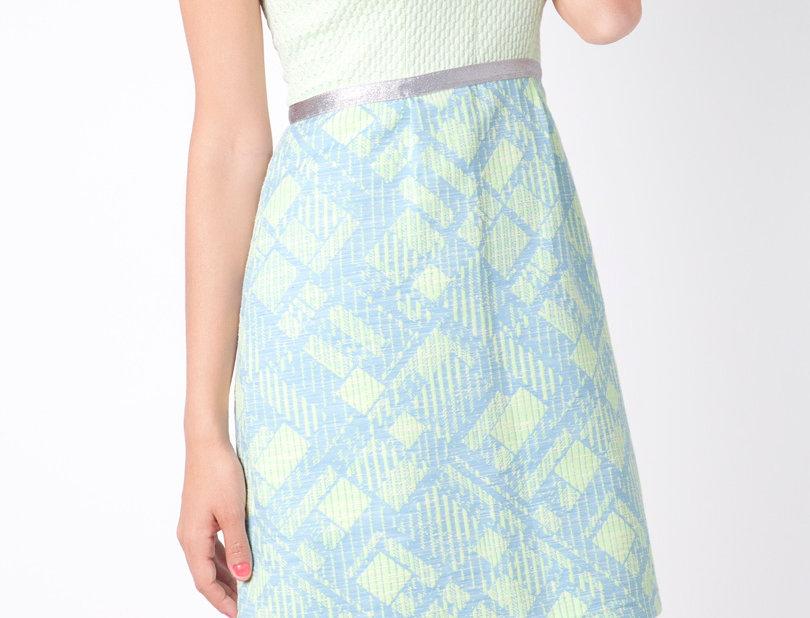 Aqua Light Cake Dress
