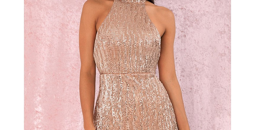 Amora Nude Party Dress