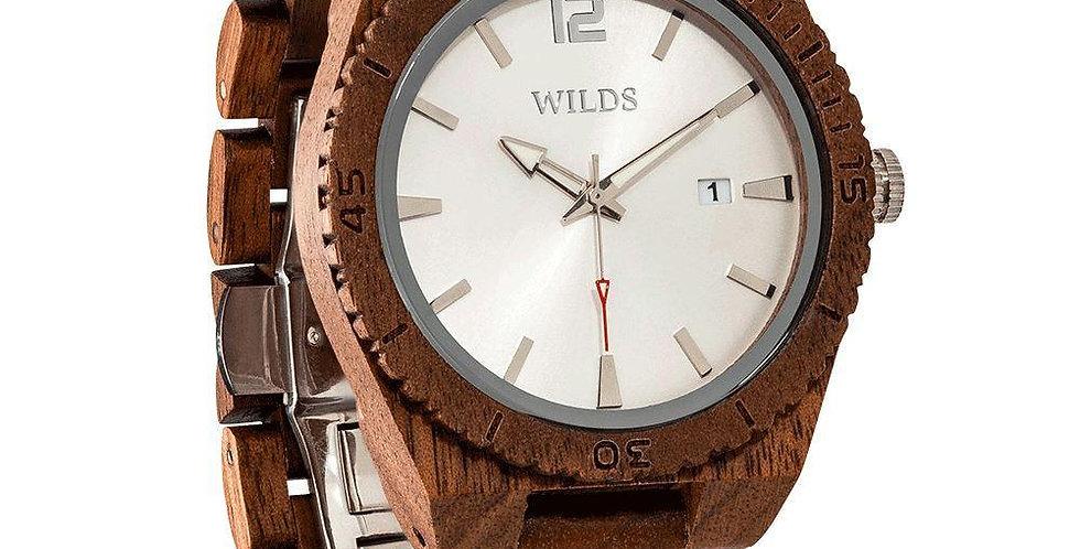 Men's Custom Engrave Walnut Wooden Watch - Personalize Your Watch