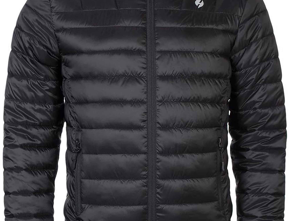 Mens Thermal Waterproof Fleece Lined Puffer Jacket