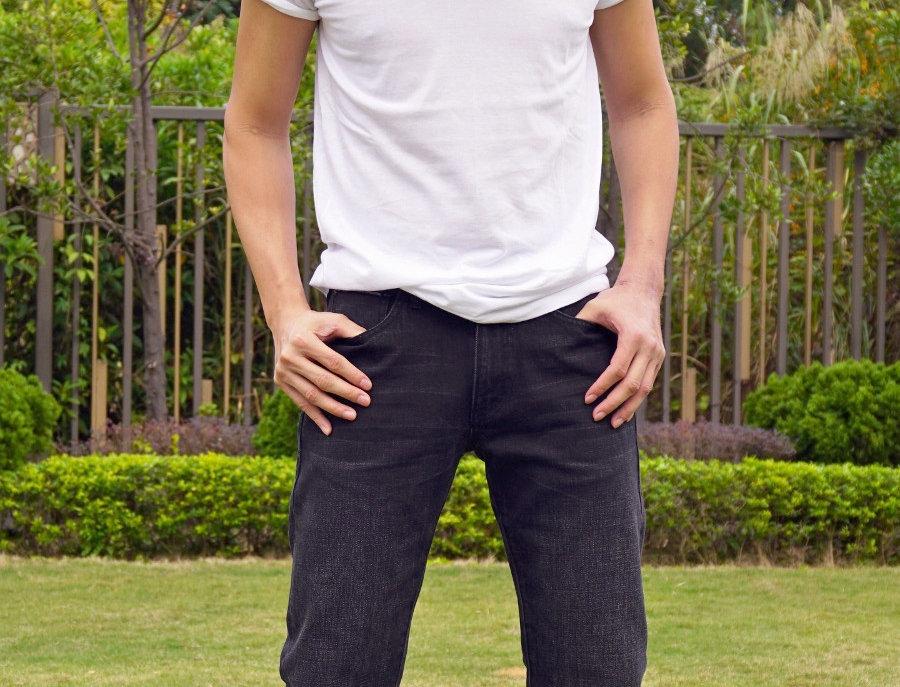Selvage Black Jeans