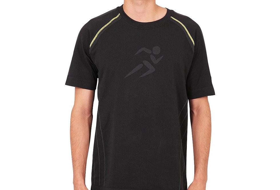 Fiorenza Short Sleeve Shirt - Black [MADE IN ITALY]