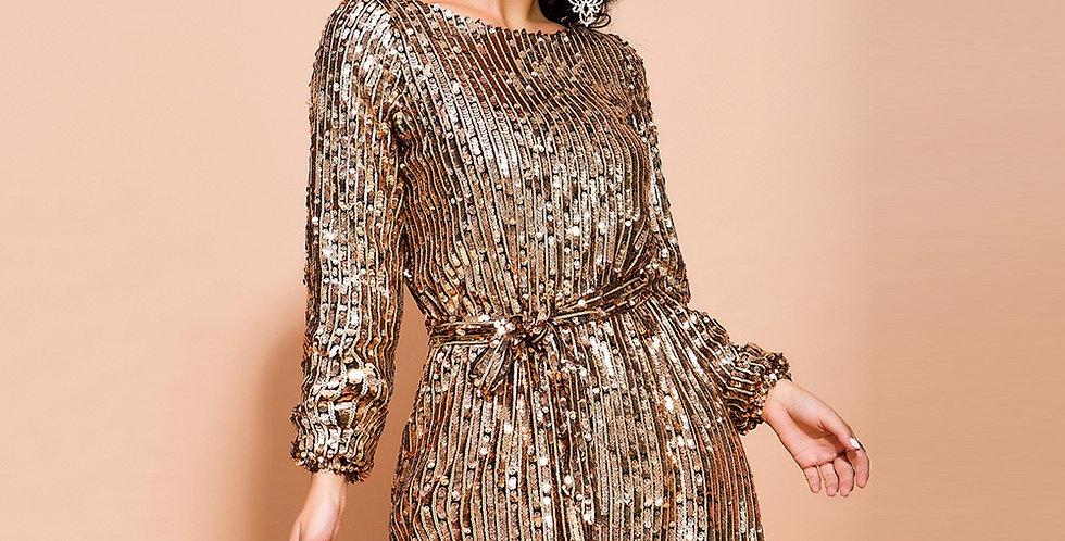 Brenda Sequin Dress