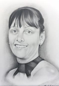 People pencil portrait