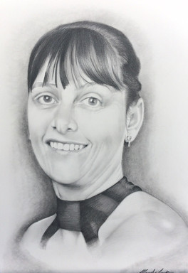 People pencil portrait