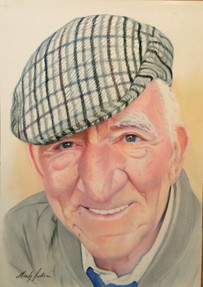 People pastel portrait