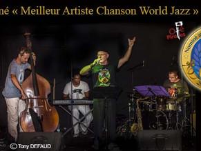 Oté Pirates Nominé Aux Voix De L'océan Indien 2015 (Catégorie Meilleur Artiste Chanson / World / Jaz
