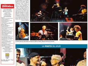 Oté Pirates concert à la Cité des arts , La presse en parle