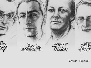 """Ernest Pignon Ernest """"chorégraphe de notre mémoire"""""""