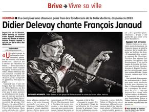 Didier Delezay Chante François Janaud
