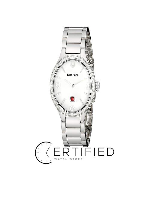 Ladies Diamond Luxury Bulova Watch ($1,095 value)