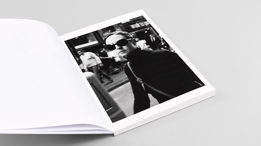 """WIR"" page 10 / 96 24 x 32 centimeter double inkjet print on Munken polar rough 120 gsm"