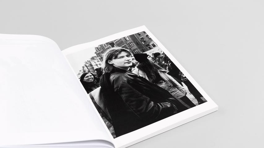 """WIR"" page 41 / 96 24 x 32 centimeter double inkjet print on Munken polar rough 120 gsm"