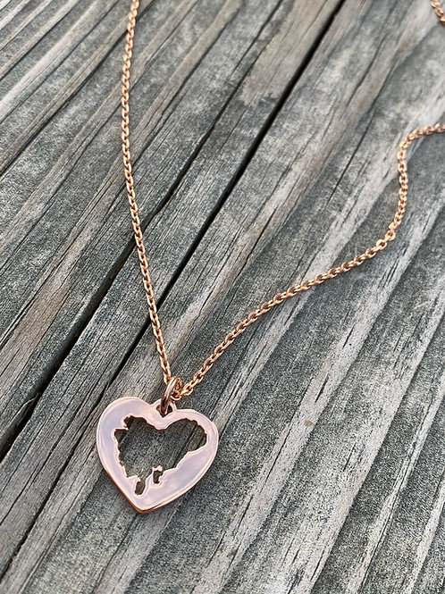 14k Heart of Dorchester Necklace