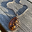 Thumbnail: Estate Sterling Amber Necklace