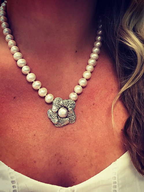 Oyster Blossom Necklace