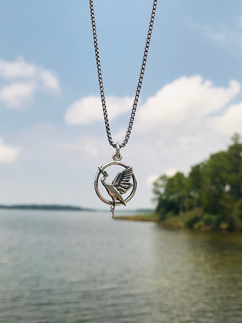 The Heron Necklace