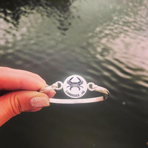 Cambridge Maryland Crab Bracelet