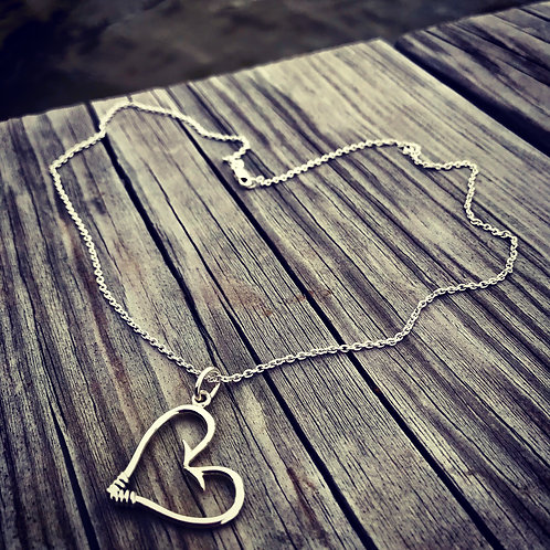 Lover's Hook Necklace (Large)