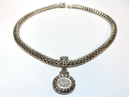 Estate John Hardy Diamond Necklace