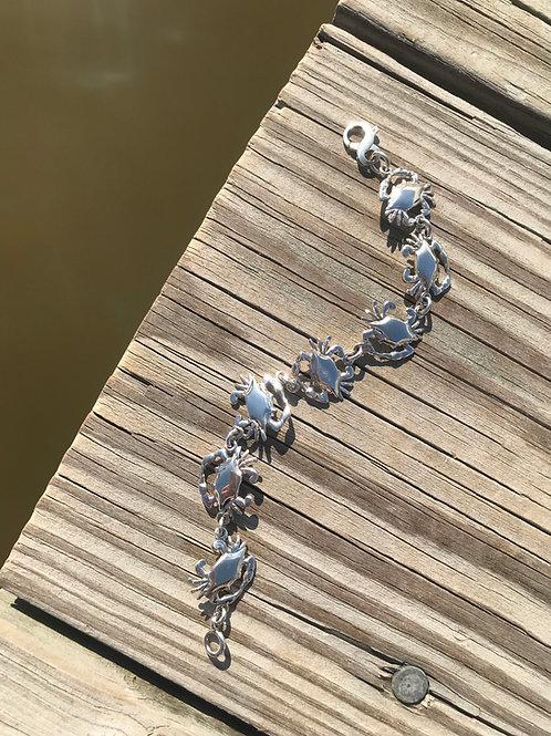 Gone Crabbin' Bracelet