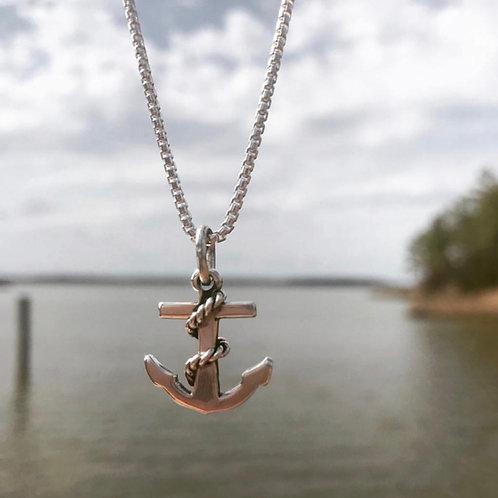 Anchor Aweigh Necklace