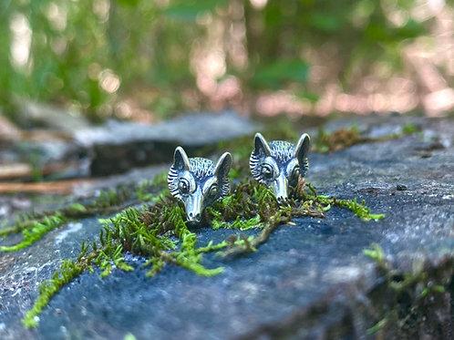 Foxy Stud Earrings
