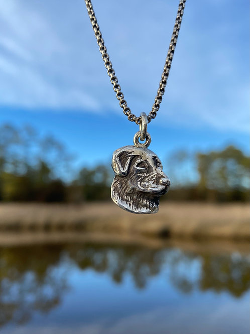 Dog Head Necklace