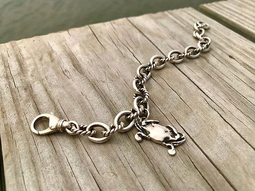 Choptank Crab Rope Bracelet