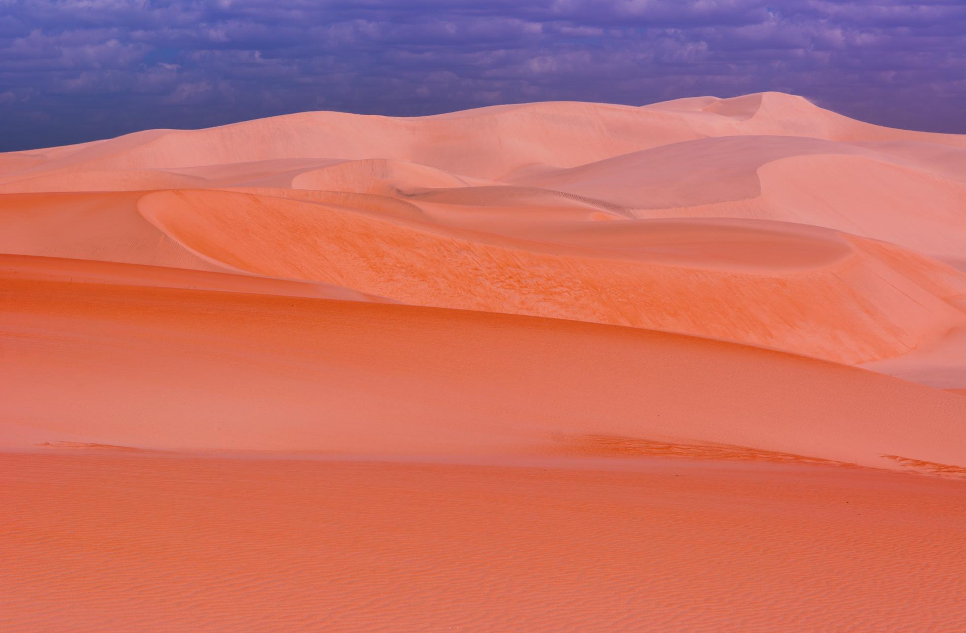 As dunas do rosado