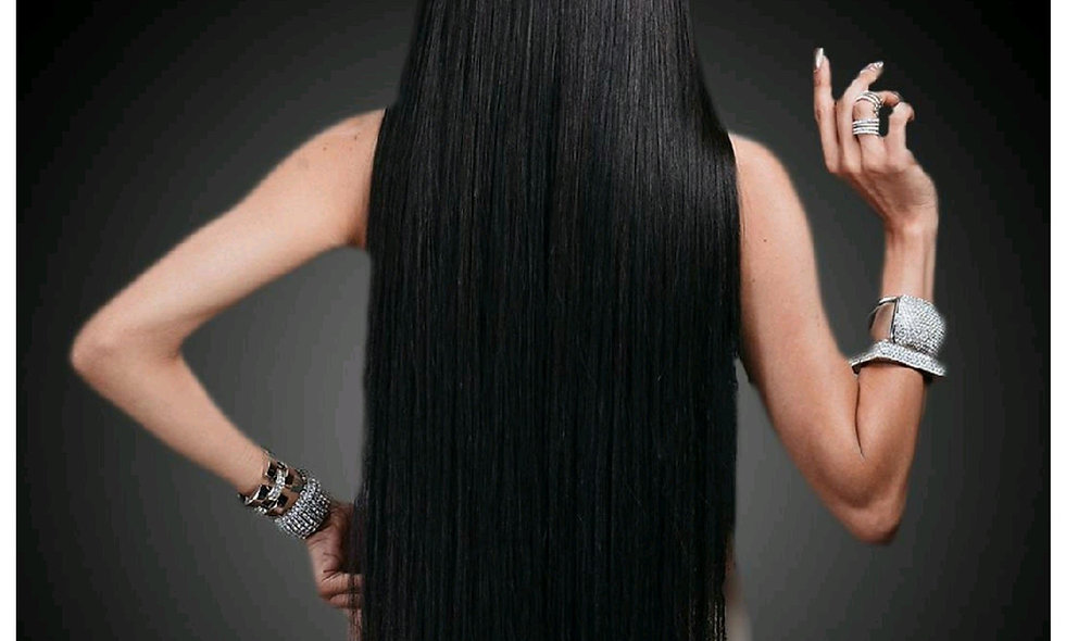 """ QUEENPUNZEL"" 30 Inch Straight Closure Unit"