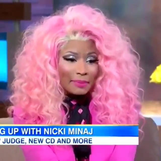 Nicki Minaj interview.