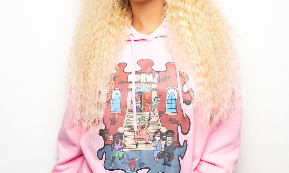 """BLONDE QUEENZ DEEP WAVE "" 20 Inch Unit"
