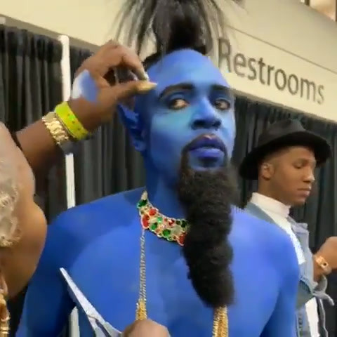 Terrence Backstage at B&B Show 2019