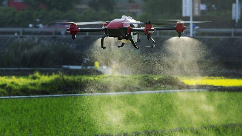 spray drones agricultural farming Bundab