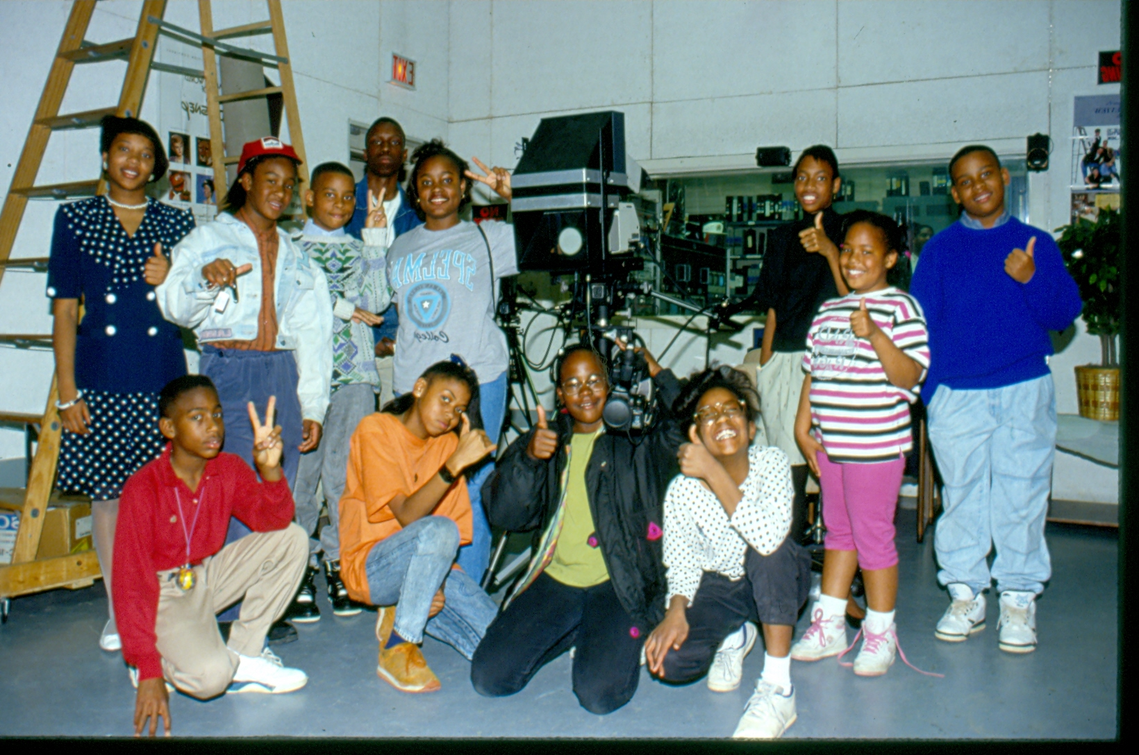 Group Shot of RELAY Crew for a 1991 Production - Copy