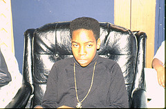 Copy of Twelve year old Sean Akil Wingate prepares for hosting - Copy