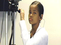 Charles County Maryland, RELAY student,Kwanzaa, operates camcorder2 - Copy - Copy