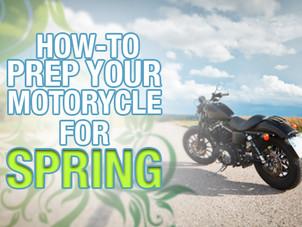 Spring Motorcycle Prep