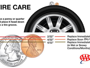 AAA Tire Care Tips