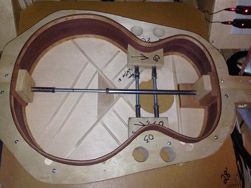 OM Guitar Mold