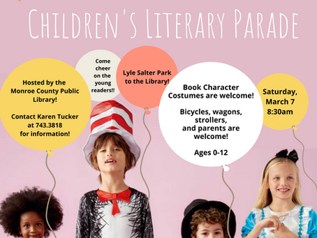 The Children's Literary Parade: Show Off Your Love for Reading!