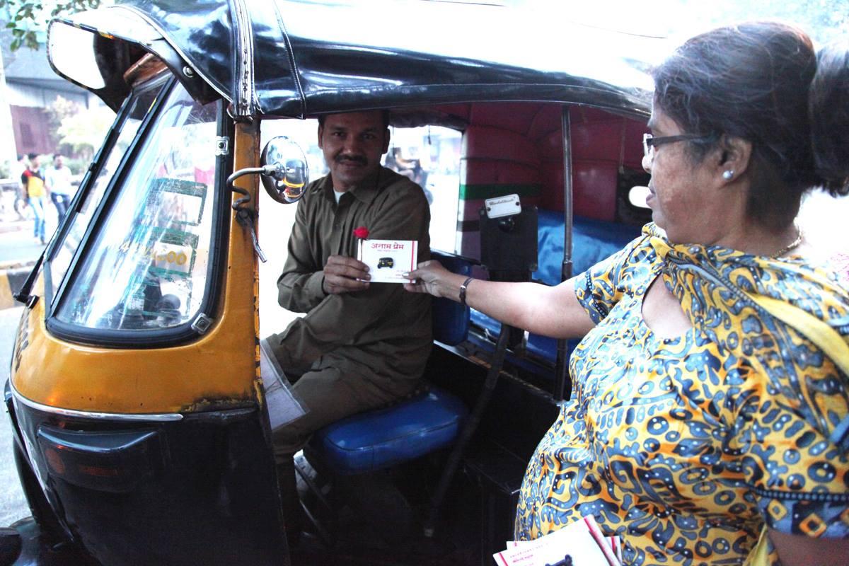 Gratitude to Rickshaw Driver 1