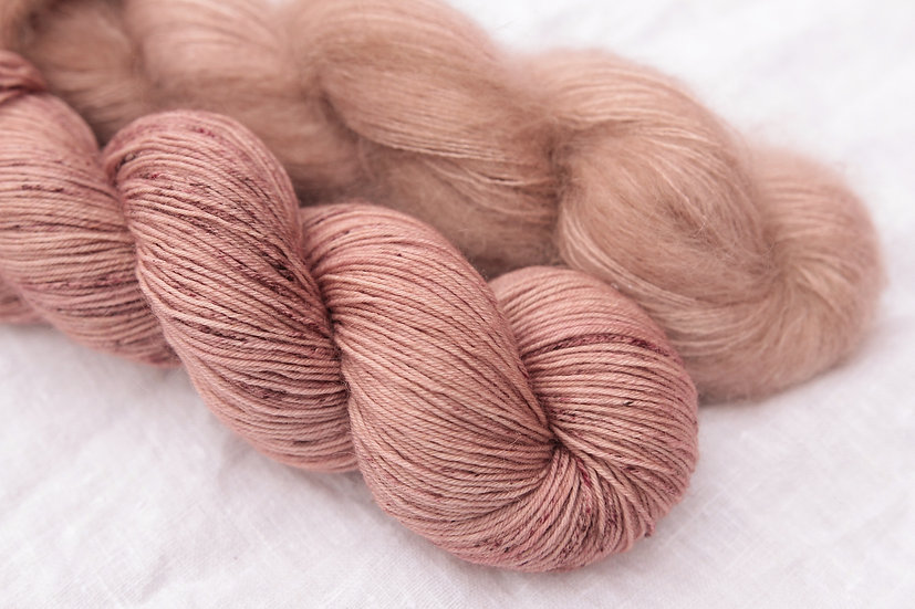 Kit for Suska's Socks - Bois de Rose